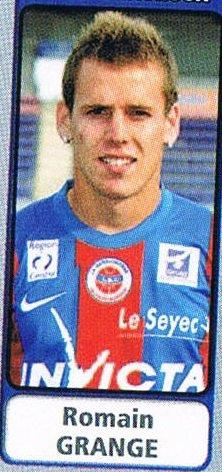 Romain Grange 2011/2012
