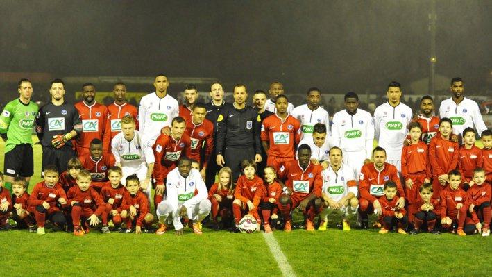 Hassane Kamara coupe de France 2014/2015, porté à Luçon, 32ème de finale le 03/01/2015