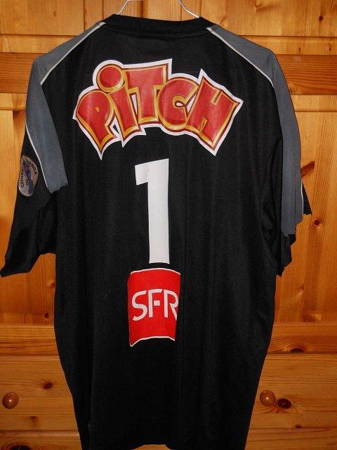 Vincent Fernandez coupe de France 2005/2006 (porté contre Yzeure le 07/01/2006, 32ème de finale)