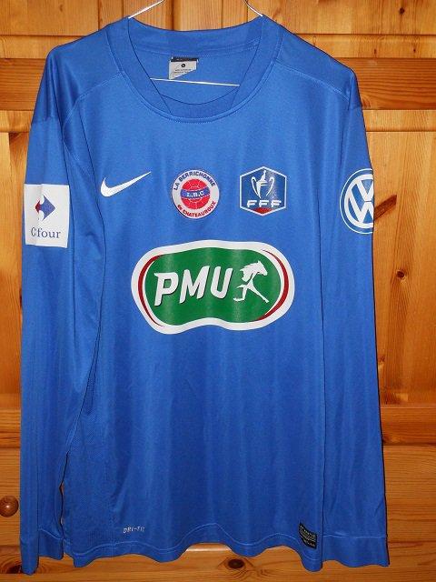 Damien Plessis coupe de France 2014/2015 (porté à Tarbes le 06/12/2014, 8ème tour)