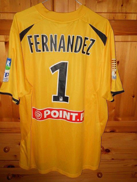 Vincent Fernandez coupe de la ligue 2010/2011(porté à Laval, 30/07/2010, 1er tour)