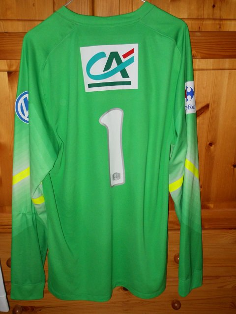 Landry Bonnefoi coupe de France 2014/2015 porté à Luçon, 32ème de finale le 03/01/2015