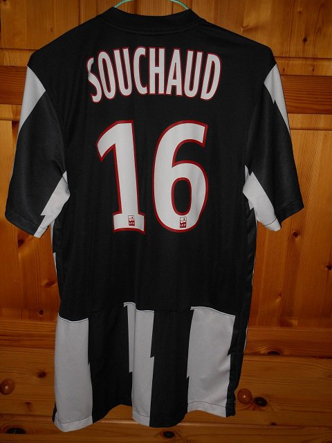 Louis Souchaud, 2014/2015 porté contre le Gazelec Ajaccio, 10/04/2015 (joueur resté sur le banc)
