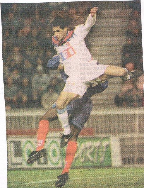 Ismaël Triki coupe de France 1995/1996 (porté à Paris, 32ème de finale le 13/01/1996)