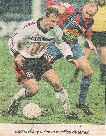 Frédéric Gueguen, coupe de France 1998/1999, 16ème de finale contre Laval le 20/02/99