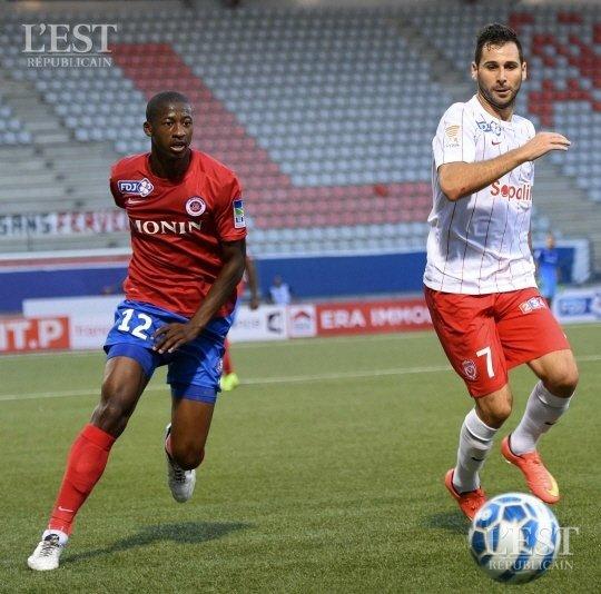 Hassane Kamara, porté à Nancy le 11/08/2015, 1er tour de la coupe de la ligue 2015/2016, joueur resté sur le banc