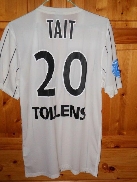 Flavien Tait, 2015/2016, porté à Colmar le 21/08/2015
