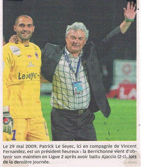 Vincent Fernandez, 2008/2009