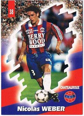 Olivier Tebily, 1997/1998, porté contre le PSG, le 9 mai 1998