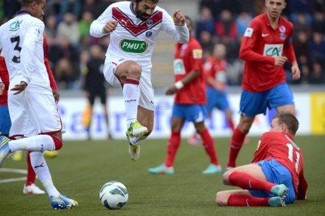Mickael Caradec, coupe de France 2012/2013, porté contre Bordeaux le 06/01/2013, 32ème de finale