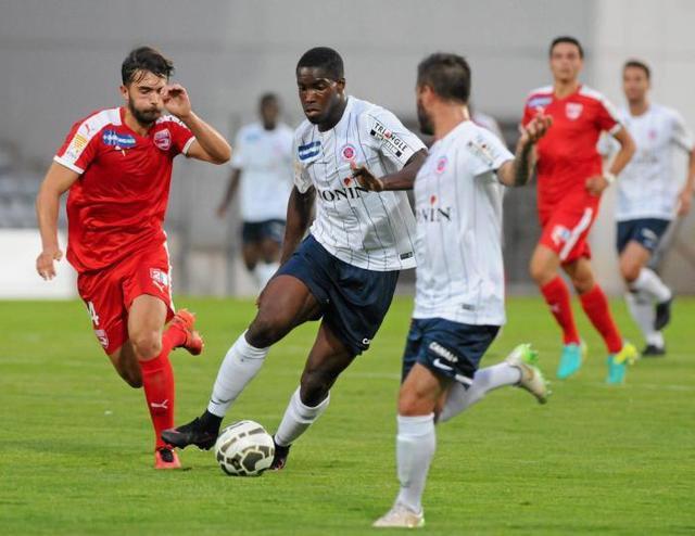 Sanaa Altama, coupe de la ligue 2016/2017, porté à Nimes le 09/08/2016, 1er tour