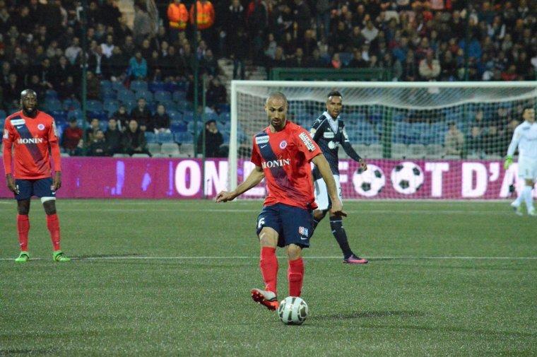 Razak Boukari, coupe de la ligue 2016/2017, porté contre Bordeaux le 26/10/2016, 16ème de finale