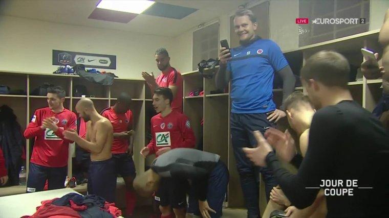 Rémi Pillot, coupe de France 2016/2017, 32ème de finale contre Pau le 08/01/2017