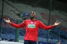 Adil Lebrun, coupe de France 2016/2017, 16ème de finale, porté contre Lorient le 31 janvier 2017