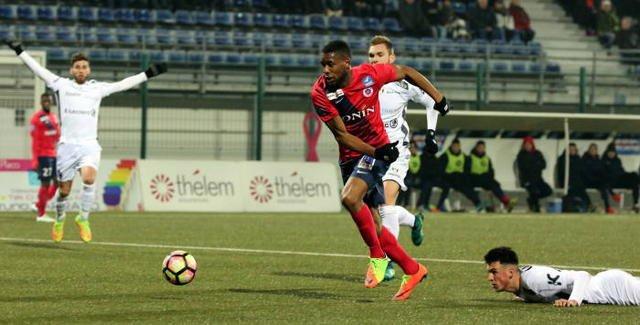 Jordan Siebatcheu, 2016/2017, porté contre le Paris FC le 17/03/2017