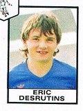 Eric Desrutins, coupe de France 1983/1984, porté contre Rouen le 28/01/1984, 32ème de finale
