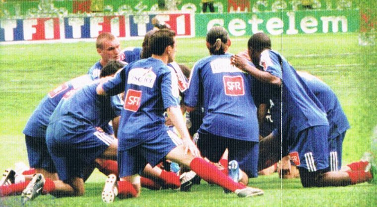 Rodolphe Roche, coupe de France 2003/2004 (maillot porté lors de l'échauffement de la finale contre le PSG le 29/05/2004)