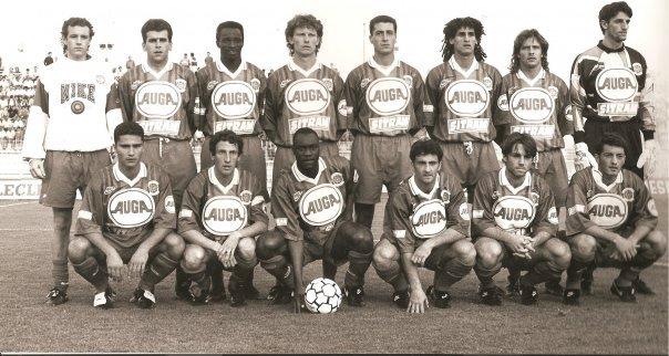 Jean-Luc Caetano, 1993/1994, sweat d'échauffement