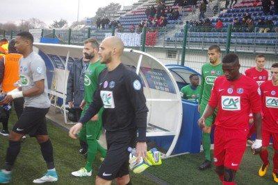 Louis Souchaud, coupe de France 2017/2018 porté contre Cholet au 8ème tour, le 02/12/2017