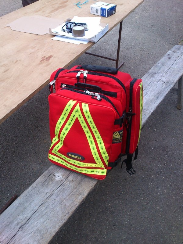 The best : Le sac de secours DIMATEX