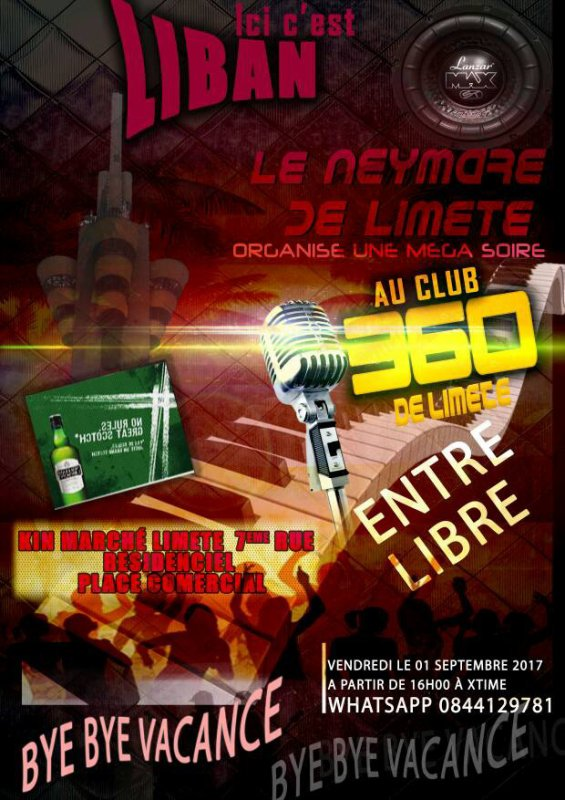 After match Rdc vs Tunisie BFmusic prestation 360 club
