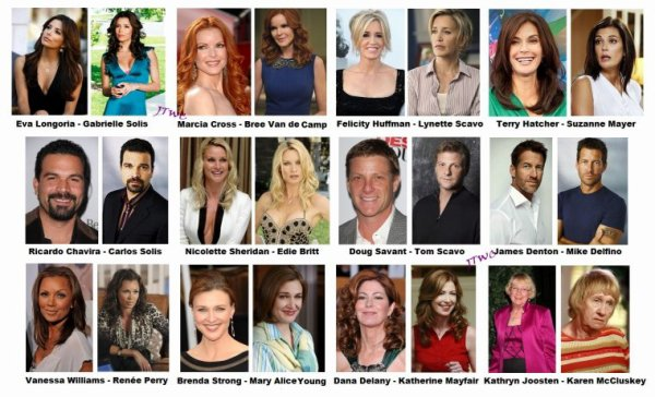 desperate housewives actrices et acteurs principal