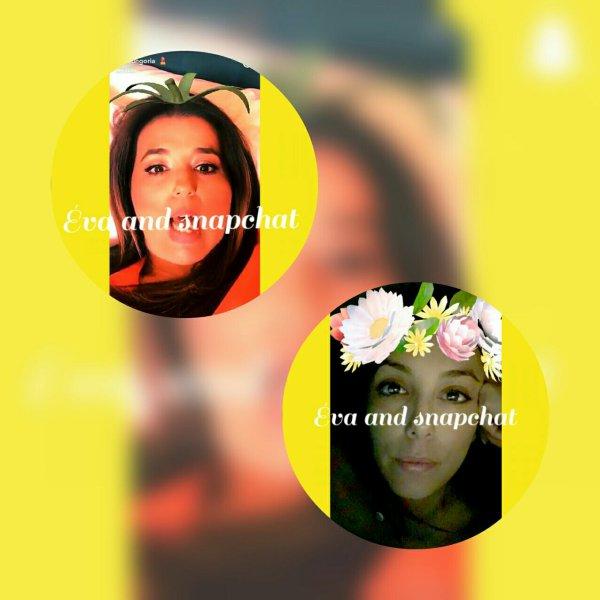 Eva and snapchat