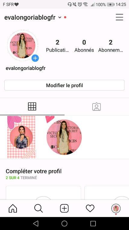 Compte Instagram
