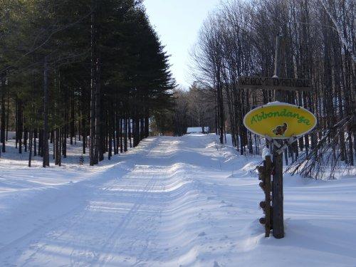 Mansonville sous la neige!!!