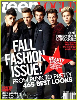 Teen vogue one direction & people style watch Selena Gomez