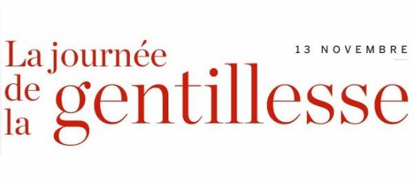 JOURNEE MONDIALE DE LA GENTILLESSE