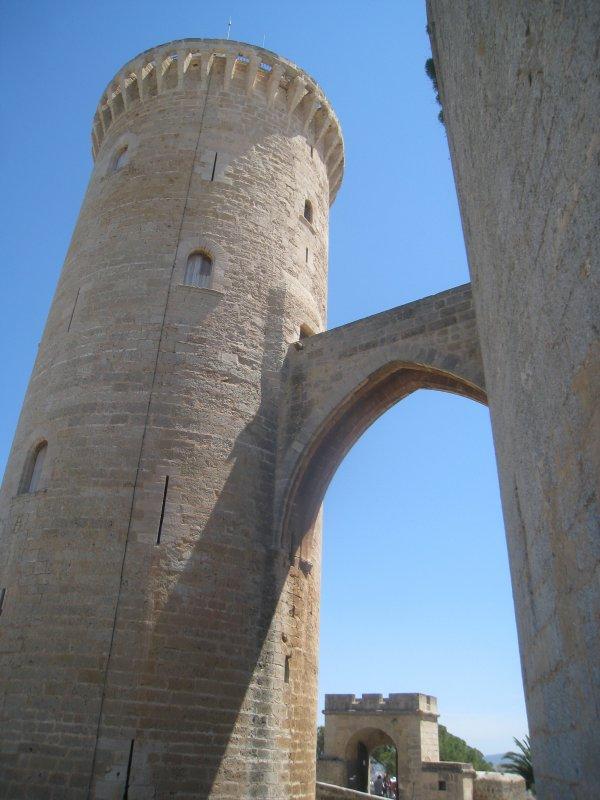 PALMA DE MAJORQUE - LE CHATEAU DE BELLVER