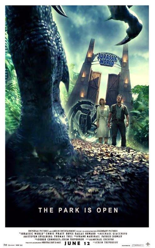 Jurassic World : Encore une affiche !