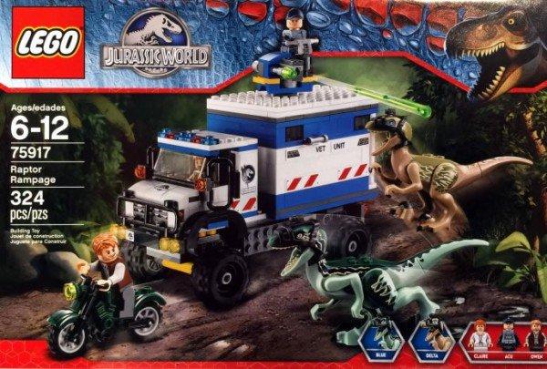 Lego Jurassic World : Les sets se dévoilent !