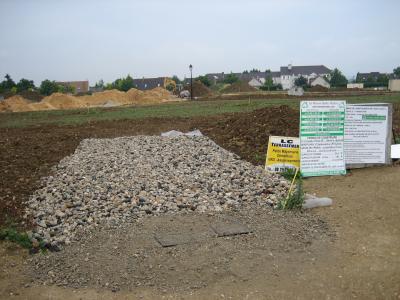 Chemin d acces termine le chantier de ma maison - Acces chantier maison individuelle ...