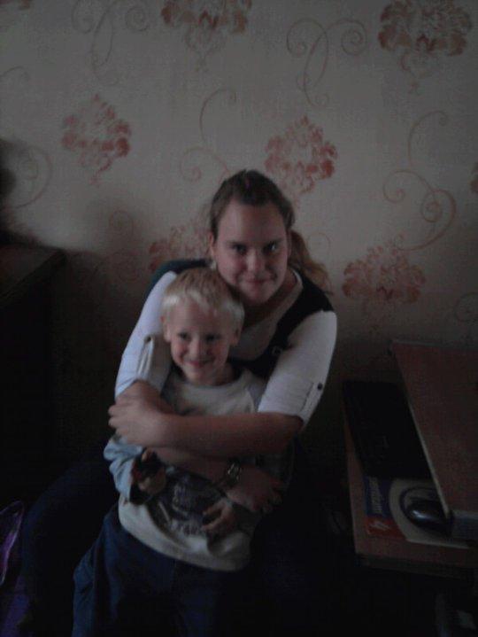 moi et mon petit cousin jordan