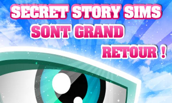 Eh oui, secret sims story est de RETOUR !