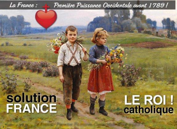La France a perdu sa force vitale en 1789