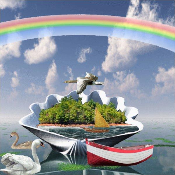 reve de mer ou de voyage au large