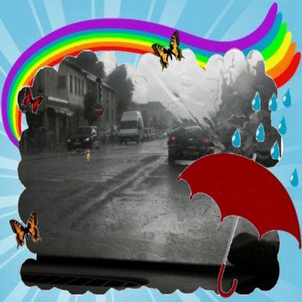 voila la pluie est de retour