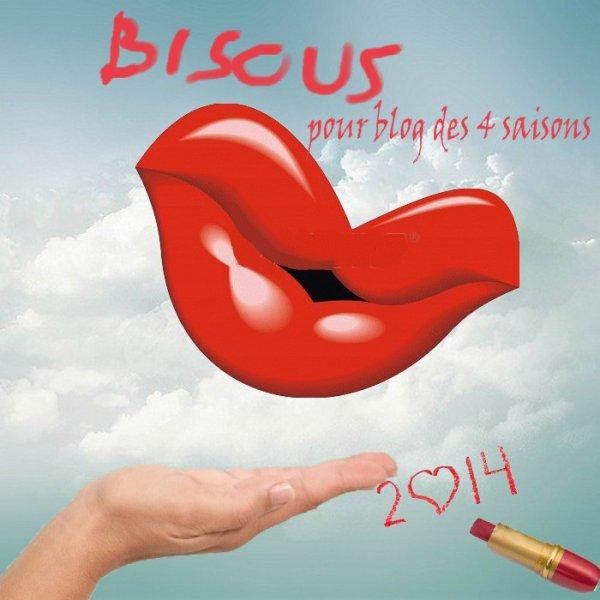 bisous pour blog des 4 saisons