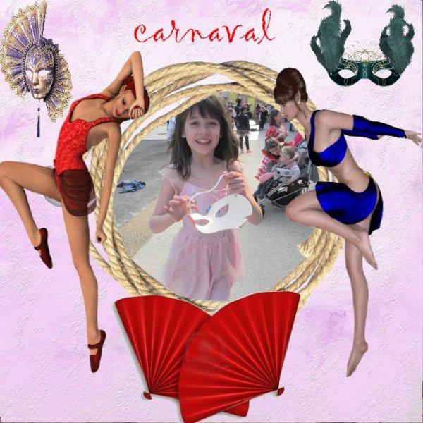 j etais au carnaval de ma petite fille
