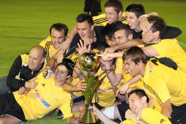 La dh remporte la coupe des landes stade montois football - Coupe des landes football ...