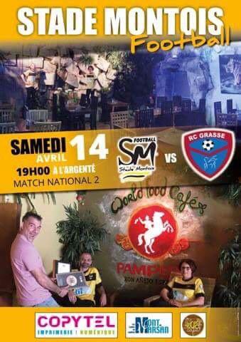 STADE MONTOIS - RC GRASSE : L'AFFICHE !