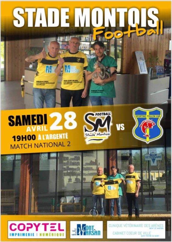 STADE MONTOIS - SC TOULON : L'AFFICHE