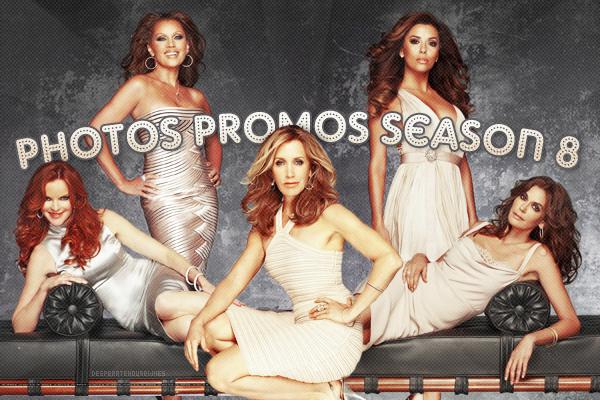 Premières photos promotionnelles de la saison 8.
