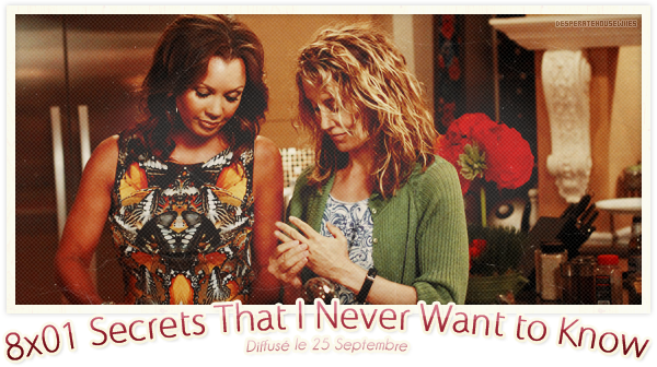 """8x01 - """"Secrets That I Never Want to Know""""; Review"""