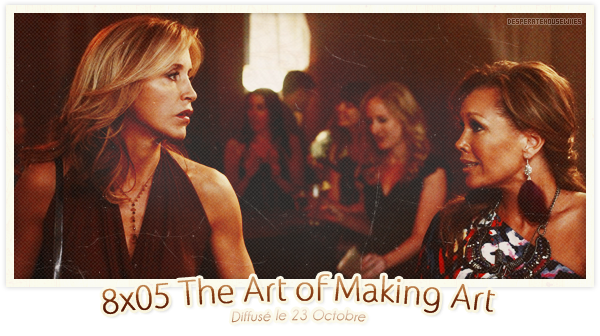 "8x05 - ""The Art of Making Art""; Review"