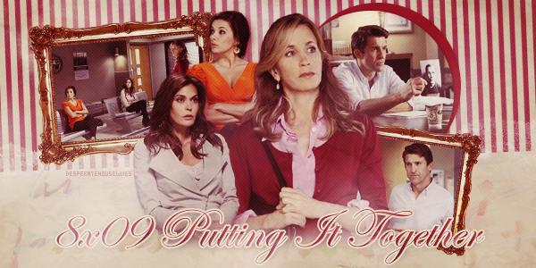 """Tout sur l'épisode 8x09 """"Putting it Together"""", le pleins de nouveaux spoilers et de photos du tournage."""