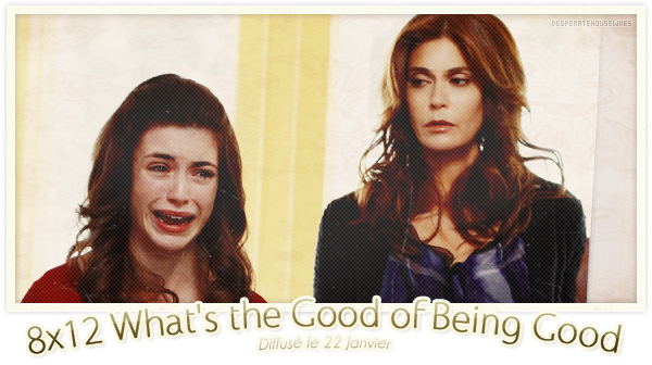 "8x12 - ""What's the Good of Being Good'""; Review"